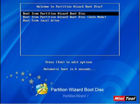 partition magic boot disk